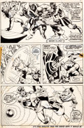 Original Comic Art:Panel Pages, George Tuska and Dave Cockrum Avengers #107 Page 6-7 Original Art Group (Marvel, 1973).... (Total: 2 Original Art)