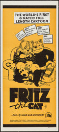 "Movie Posters:Animation, Fritz the Cat (20th Century Fox, 1972). Australian Daybill (13.25""X 29.75""). Animation.. ..."