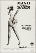 "Movie Posters:Comedy, MASH (20th Century Fox, 1970). Australian One Sheet (27"" X 40""). Comedy.. ..."