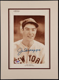 """Baseball Collectibles:Photos, 1939 Joe DiMaggio Signed """"The Sporting News"""" SupplementPhotograph...."""