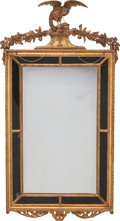 Furniture, A French Neoclassical Carved Giltwood Mirror Frame, 19th century. 53 inches high x 26 inches wide (134.6 x 66.0 cm). ...