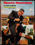 Football Collectibles:Publications, 1968 Vince Lombardi and the Green Bay Packers SB II Sports Illustrated Magazine....