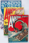 Pulps:Science Fiction, Amazing Stories Group (Ziff-Davis, 1926-33) Condition: AverageVG+.... (Total: 17 Comic Books)