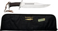 "Movie/TV Memorabilia:Props, ""Rambo III"" Gil Hibben Prop Bowie Knife...."