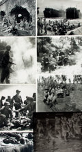 Books:Prints & Leaves, [World War II/Philippines]. Archive of Approximately Forty-TwoPhotographs and Images Relating to the Philippines During World...
