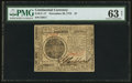 Continental Currency November 29, 1775 $7 PMG Choice Uncirculated 63 Net