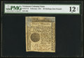Colonial Notes:Vermont, Vermont February 1781 20s PMG Fine 12 Net.. ...