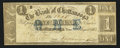 Obsoletes By State:Tennessee, Chattanooga, TN- Bank of Chattanooga $1 Aug. 28, 1861 G14b. ...