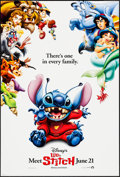 "Movie Posters:Animation, Lilo & Stitch (Buena Vista, 2002). One Sheets (2) (27"" X 40"") DS Advance. Animation.. ... (Total: 2 Items)"