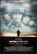 "Movie Posters:War, Saving Private Ryan (Paramount, 1998). One Sheet (27"" X 40"") DS. War.. ..."