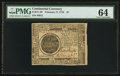 Colonial Notes:Continental Congress Issues, Continental Currency February 17, 1776 $7 PMG Choice Uncirculated64.. ...