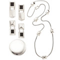 Estate Jewelry:Suites, Enamel, Sterling Silver Jewelry Suite, Bayanihan. ...