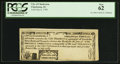 Colonial Notes:South Carolina, South Carolina City of Charleston July 6, 1789 1s3d PCGS New 62.....