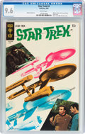 Silver Age (1956-1969):Science Fiction, Star Trek #4 (Gold Key, 1969) CGC NM+ 9.6 White pages....