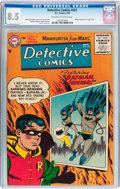 Silver Age (1956-1969):Superhero, Detective Comics #231 (DC, 1956) CGC VF+ 8.5 Off-white to whitepages....
