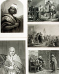 Books:Prints & Leaves, [Engraved Prints]. Group of Nine Engraved Plates Depicting Various Middle-Eastern Themes. Various publishers, circa 1850. ...