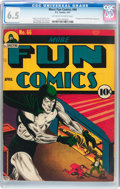 Golden Age (1938-1955):Superhero, More Fun Comics #66 (DC, 1941) CGC FN+ 6.5 Off-white to white pages....