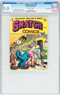 Silver Age (1956-1969):Alternative/Underground, Snatch Comics #3 Haight-Ashbury pedigree (Apex Novelties, 1969) CGCNM/MT 9.8 Off-white pages....