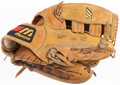 Baseball Collectibles:Others, 1990's Gary Sheffield Game Worn Fielder's Glove. ...