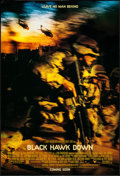 "Movie Posters:War, Black Hawk Down (Columbia, 2001). One Sheets (2) (27"" X 40"") DSAdvance & Regular. War.. ... (Total: 2 Items)"