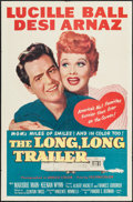 "Movie Posters:Comedy, The Long, Long Trailer (MGM, 1954). One Sheet (27"" X 41""). Comedy....."