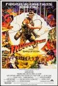 "Movie Posters:Adventure, Indiana Jones and the Temple of Doom (Paramount, 1984). British OneSheet (27"" X 40"") Style B. Adventure.. ..."
