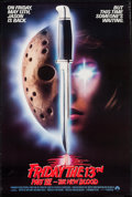 """Movie Posters:Horror, Friday the 13th Part VII - The New Blood & Others Lot (Paramount, 1988). One Sheets (3) (27"""" X 40"""" & 27"""" X 41"""") SS. Horror.... (Total: 3 Items)"""