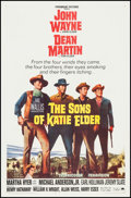 "Movie Posters:Western, The Sons of Katie Elder (Paramount, 1965). One Sheet (27"" X 41.5""). Western.. ..."