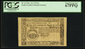 Colonial Notes:South Carolina, South Carolina December 23, 1776 $3 PCGS Superb Gem New 67PPQ.. ...