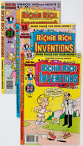 Bronze Age (1970-1979):Cartoon Character, Richie Rich Inventions File Copies Group of 58 (Harvey, 1977-82)Condition: Average NM-.... (Total: 58 Comic Books)
