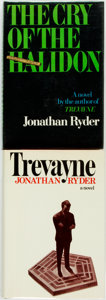 Books:Mystery & Detective Fiction, Jonathan Ryder [pseudonym of Robert Ludlum]. Pair of Titles, One ofWhich has SIGNED BOOKPLATE. New York: Delacorte Press, [... (Total:2 Items)