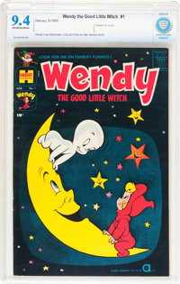 Wendy, the Good Little Witch #1 (Harvey, 1960) CBCS NM 9.4 Off-white to white pages