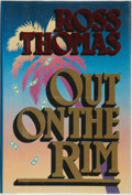Books:Mystery & Detective Fiction, Ross Thomas. SIGNED. Out on the Rim. New York, London: TheMysterious Press, [1987]. First edition, first printing. ...