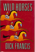 Books:Mystery & Detective Fiction, Dick Francis. SIGNED. Wild Horses. New York: G.P. Putnam'sSons. First edition. ...