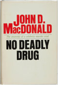 Books:Mystery & Detective Fiction, John D. MacDonald. No Deadly Drug. Garden City: Doubleday& Company, 1968. First edition. ...