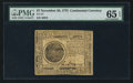 Colonial Notes:Continental Congress Issues, Continental Currency November 29, 1775 $7 PMG Gem Uncirculated 65 EPQ.. ...