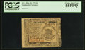 Colonial Notes:Continental Congress Issues, Continental Currency May 10, 1775 $1 PCGS Choice About New 55PPQ.....