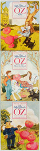 Books:Children's Books, Roger S. Baum. INSCRIBED. The Silly OZbul of OZ. A Trilogy.[Westlake Village], CA: Yellow Brick Road Publishers... (Total: 3Items)