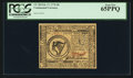 Colonial Notes:Continental Congress Issues, Continental Currency February 17, 1776 $8 PCGS Gem New 65PPQ.. ...