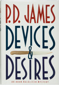 Books:Mystery & Detective Fiction, P. D. James. SIGNED. Devices and Desires. New York: AlfredA. Knopf, 1990. First American trade edition. ...