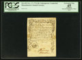 Colonial Notes:Massachusetts, Massachusetts November 17, 1776 48s Contemporary Counterfeit PCGSApparent Extremely Fine 45.. ...