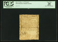 Colonial Notes:Massachusetts, Massachusetts December 7, 1775 3s 4d PCGS Apparent Very Fine 20.. ...