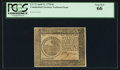 Colonial Notes:Continental Congress Issues, Continental Currency April 11, 1778 $6 PCGS Gem New 66.. ...