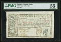 Colonial Notes:Georgia, Georgia May 4, 1778 $40 PMG About Uncirculated 55.. ...