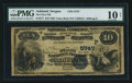 National Bank Notes:Oregon, Ashland, OR - $10 1882 Value Back Fr. 577 The First NB Ch. # (P)5747. ...