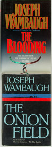 Books:Mystery & Detective Fiction, Joseph Wambaugh. Pair of SIGNED/INSCRIBED Titles. The OnionField. New York: Delacorte Press, [1973] [and:] ... (Total: 2 )