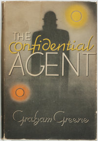 [Featured Lot]. Graham Greene. The Confidential Agent. New York: Viking Press, 1939. First U. S