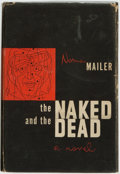 Books:Literature 1900-up, [Featured Lot]. Norman Mailer. SIGNED. The Naked and theDead. New York: Rinehart and Company, [1948]. First edition...