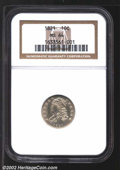Bust Dimes: , 1821 10C Small Date MS64 NGC. JR-9, R.2. Among die ...