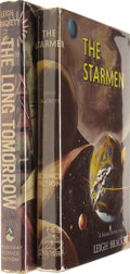 Books:Signed Editions, Lot of Two Leigh Brackett First Editions....